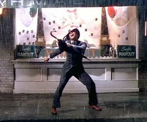 Gene Kelly and singin' in the rain image