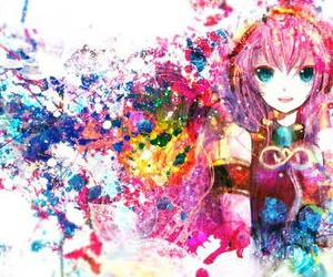 pink, vocaloid, and rosa image