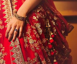 wedding, girl, and jewelry image