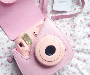camera, chanel, and pink image