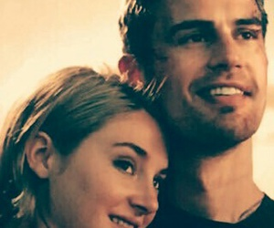 Shailene Woodley, theo james, and allegiant image