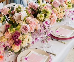beauty, chic, and flowers image