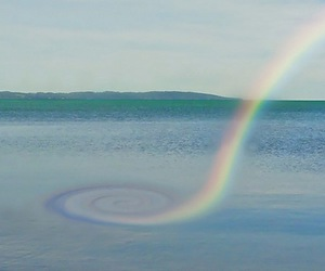rainbow and photography image