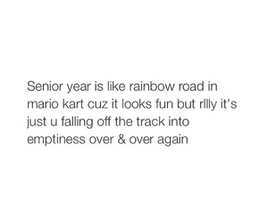 high school, quotes, and senior image