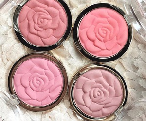 pink, beauty, and rose image