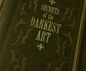 book, dark, and witch image