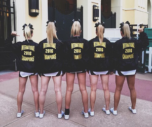 cheer and cheerleading image