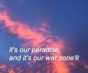 Lyrics, Pillow Talk, and sky image