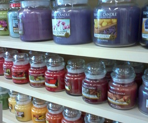 candles, shopping, and yankee candle image