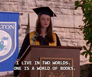 books, rory gilmore, and gilmore girls image