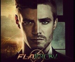 arrow, flash, and stephen amell image