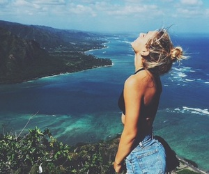 blonde, ocean, and tumblr image