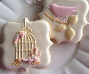 Cookies, pastel, and sweet image