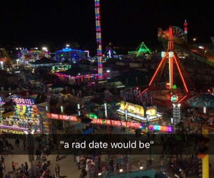 date, relationship goals, and carnival image