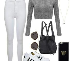 adidas, ootd, and grey image