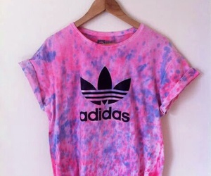 adidas, shirt, and pink image