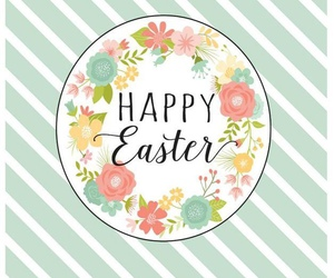 decor, flower, and happy easter image