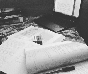 exams, student, and studying image