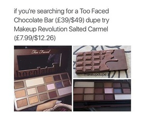 too faced and makeup revolution image
