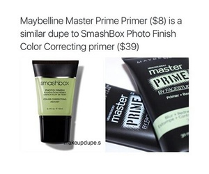 dupe, Maybelline, and makeup image