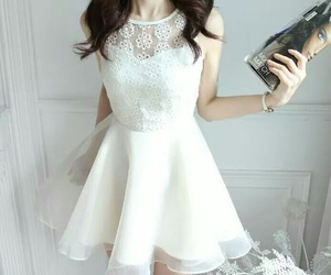 white dress image