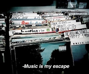 music, rock, and vintage image