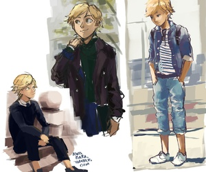 miraculous ladybug, Chat Noir, and adrien agreste image