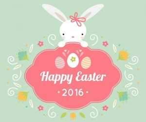 2016, bunny, and easter image