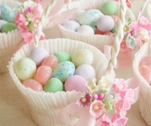 easter, eggs, and pastels image