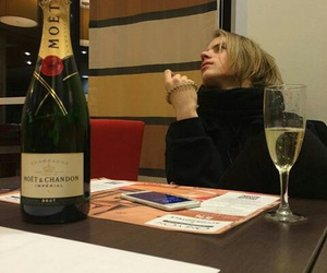 blonde, boy, and champagne image