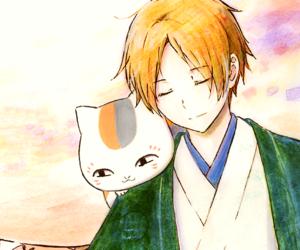 anime, nyanko sensei, and natsume yuujinchou image