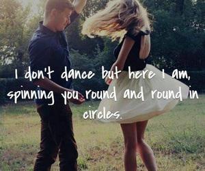 love, dance, and lee brice image