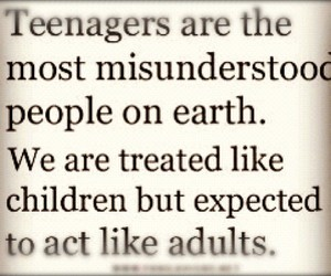 teenager, adults, and teens image