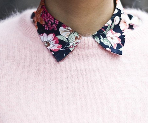 fashion, pink, and flowers image