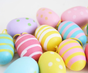 april, easter, and happy image