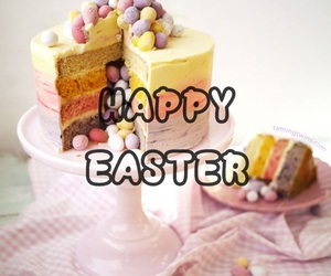 cake, colors, and easter image