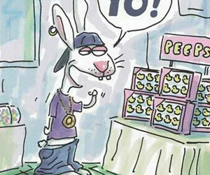 easter, easter bunny, and funny image