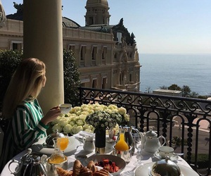luxury, breakfast, and fashion image