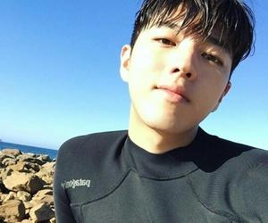 asian, korean, and ocean image