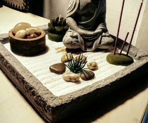 Buddha, garden, and relax image