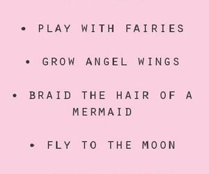 fairy, mermaid, and pink image