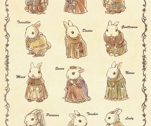 rabbit, cute, and art image
