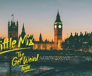 london, little mix, and get weird tour image
