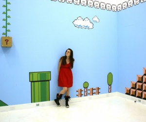 antoinette j. citizens super mario stage 1-1 room, mario room, and super mario brothers image