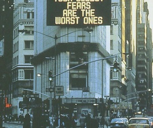 fear, quotes, and city image