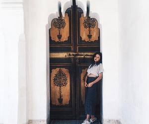 girl, style, and wanderlust image