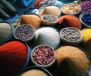 color, spices, and marocco image