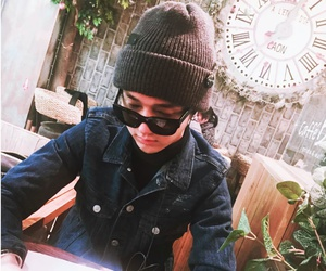 beanie, cute, and guy image