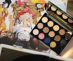 eyes, girl, and eyeshadow image