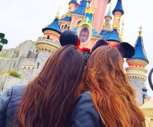 best friends, disney, and girl image